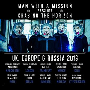 MAN WITH A MISSION tour